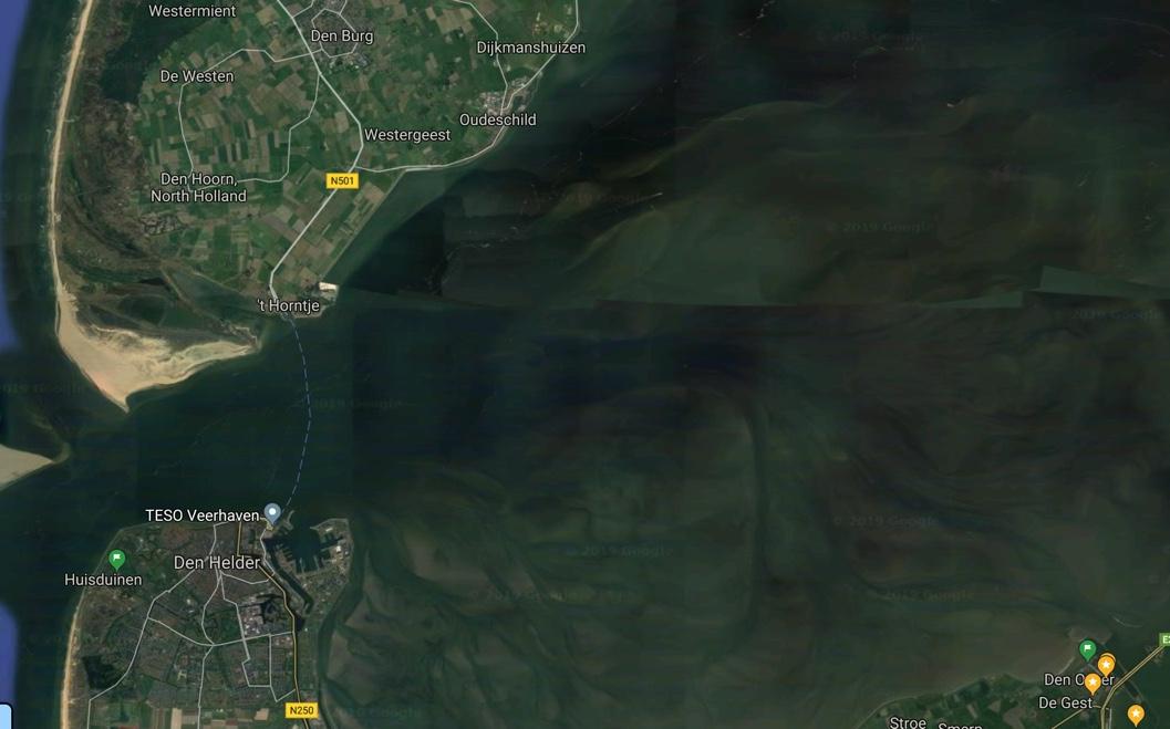 Een dagje zeilen op de Waddenzee